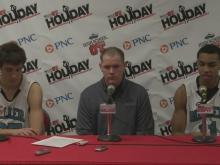 Postgame interviews: Miller School (Dec. 28)