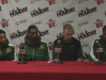 Postgame interviews: DeSoto (Dec. 28)