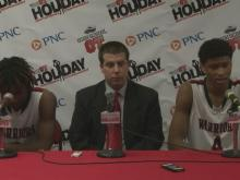 Postgame interviews: J.F. Webb (Dec. 28)