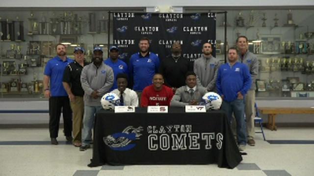 Clayton recognizes pair of ACC recruits