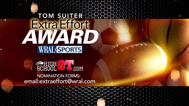 Tom Suiter's Exta Effort Award