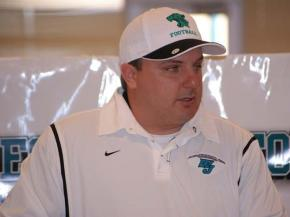 Randy Ragland was named West Johnston's next head football coach on Feb. 11, 2010. (Photo by: Nick Stevens)