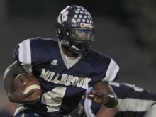 Broughton stomped Millbrook in the Cap 8 opener, 52-26.