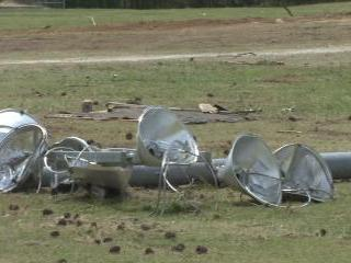 North Johnston tornado damage