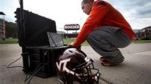 IMAGE: New helmet tests aimed at stopping teen concussions