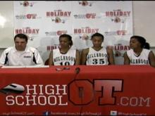 Postgame Interviews: Millbrook girls (Dec. 27, 2011)