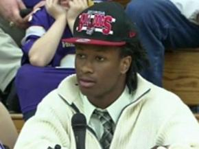 Todd Gurley announced his intention to play college football at the University of Georgia.