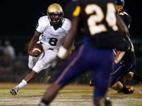 Friday night football: Jack Britt vs. E.E. Smith at Jack Britt High School.