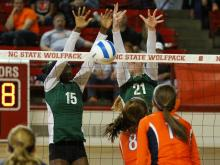 Cardinal Gibbons won its fourth straight 3-A volleyball title with a sweep of Jesse Carson.