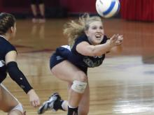 Ardrey Kell swept previously unbeaten Leesville Road in the 4-A volleyball state championship game.