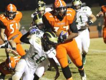 Orange advances to the third round of the state playoffs with a big win over South Johnston.
