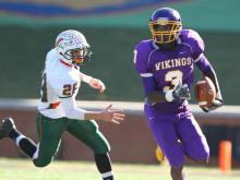 Tarboro's bid for a fourth consecutive state championship was halted Saturday in a 24-20 loss to East Lincoln in the title game at BB&T Field in Winston-Salem.