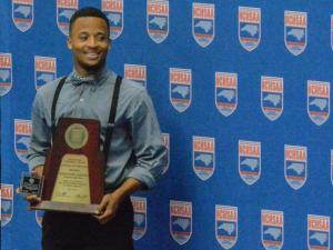 Marquavious Johnson was named the Male Athlete of the Year. The N.C. High School Athletic Association held its regular Annual Meeting on Thursday, May 1, 2014, at the Dean E. Smith Center in Chapel Hill.