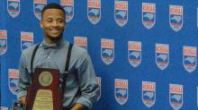 IMAGES: Knightdale's Johnson named NCHSAA Male Athlete of the Year