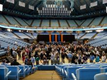 2015 NCHSAA Annual Meeting, May 7, 2015 at Dean Smith Center, Ch