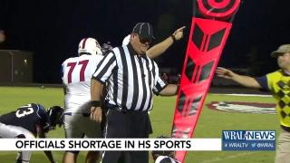 Mitchell: Shortage of officials could cause problems in high school...