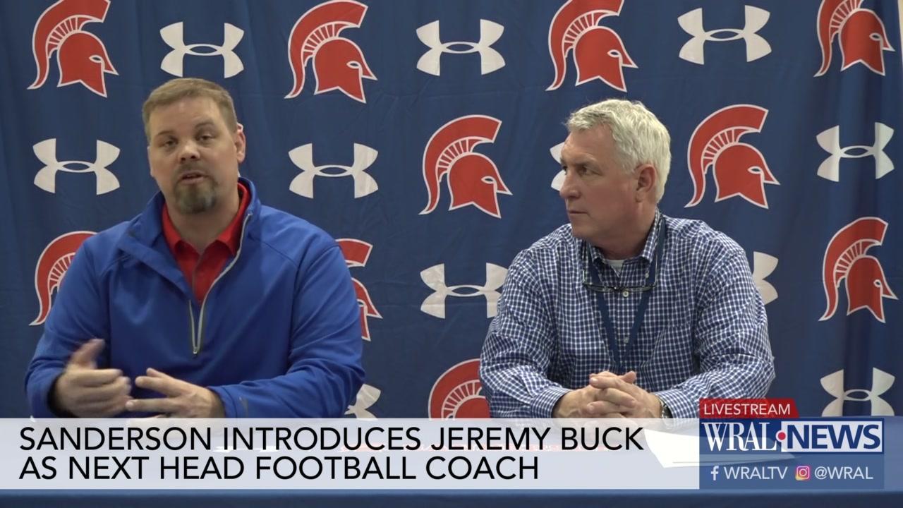 Jeremy Buck hired as next Sanderson football coach