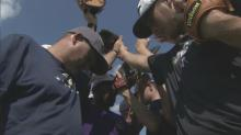 IMAGES: Cape Fear coach turns to the diamond after loss