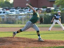 South Granville shutout Bunn in the second round of the 2-A baseball state playoffs on Friday.