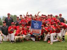 East Rutherford blew past South Granville to claim the 2-A baseball state championship in a decisive game three on Sunday.