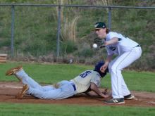 Baseball: Broughton vs Enloe (March 28, 2017)