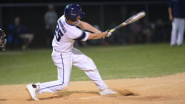 Heritage defeated Middle Creek 3-1 in the Bobby Murray Chevrolet High School Baseball Invitational on Friday, Apr. 14, 2017. (Photo By: Nick Stevens/HighSchoolOT.com)
