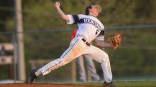 IMAGES: Baseball: Middle Creek vs. Heritage (Apr. 14, 2017)