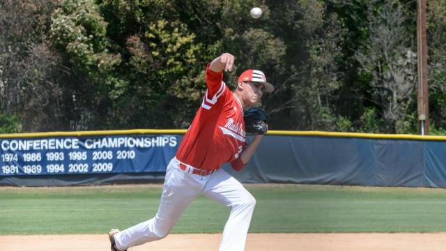 Middle Creek defeated Broughton 4 to 2 in the Bobby Murray Chevrolet High School Baseball Invitation on Saturday, Apr. 15, 2017. (Photo By: Beth Jewell/HighSchoolOT.com)