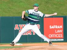 "Leesville Road hammered Sanderson 16-2 in the ""Strike Out ALS"" event at Doak Field at NC State on Thursday night."