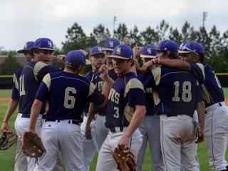 Baseball: Middle Creek vs Holly Springs (April 21, 2017)