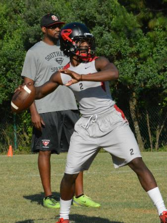 Middle Creek hosted a 7-on-7 on Thursday, June 20, 2013.  Southern Durham