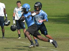 Cleveland hosts 7-on-7 competition with Garner, Gray's Creek and Panther Creek (June 25, 2013)