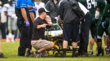 IMAGES: Green Hope QB Tutwiler breaks leg