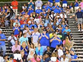 FAN CAM: Scotland County wins over S. Durham in a 53 - 31 Victory