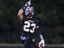 Knightdale football, basketball and track athlete Marquavious Johnson is the NCHSAA 2014 Male Athlete of the Year.