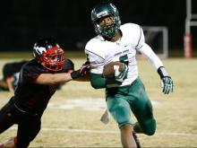 Football: Green Hope vs. Middle Creek (Oct. 4, 2013)