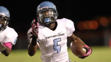 Football: Panther Creek vs. Fuquay-Varina (Oct. 18, 2013)