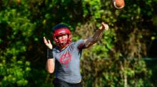 7 on 7 Football at Middle Creek - June 26, 2014