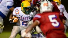 IMAGES: East-West All-Star Football Game (July 23, 2014)