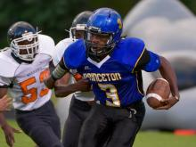 Football: North Edgecombe vs. Princeton (Sept. 5, 2014)