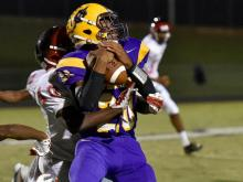 Football: Franklinton vs. Corinth Holders (Oct. 3, 2014)