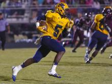Football: Rocky Mount vs. Nash Central (Oct. 10, 2014)