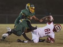 Football: Seventy-First vs. Pine Forest (Oct. 31, 2014)