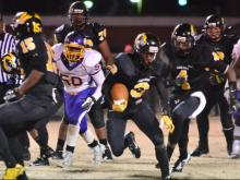 Football: James Kenan vs Tarboro (Nov. 28, 2014)