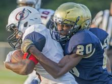 Football: E.E. Smith vs. Terry Sanford (Aug. 28, 2015)