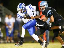 Football: Scotland County vs. Panther Creek (Sept. 24, 2015)