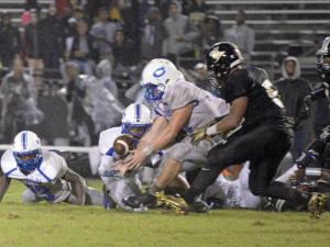 Football: Clayton vs Knightdale (Oct. 1, 2015)
