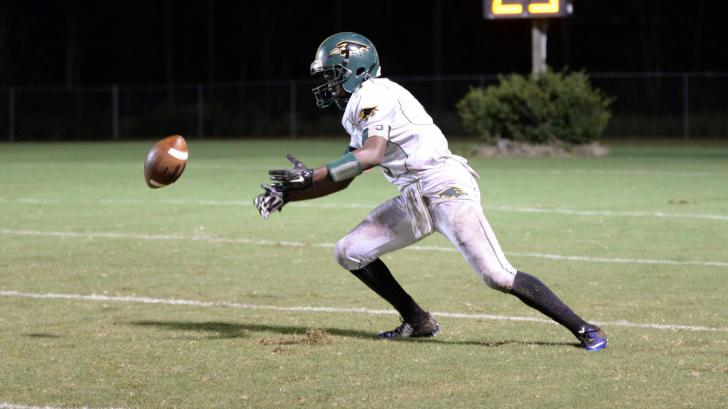 Football: Ravenscroft vs Granville Central (Oct. 5, 2015)