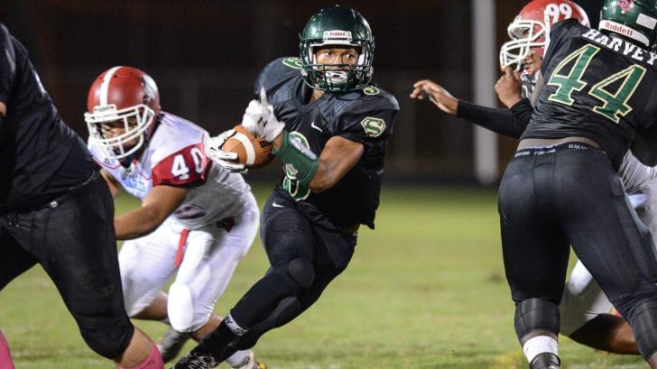Football: Western Harnett vs. South Johnston (Oct. 8, 2015)