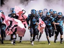Football: Clayton vs. West Johnston (Oct. 22, 2015)